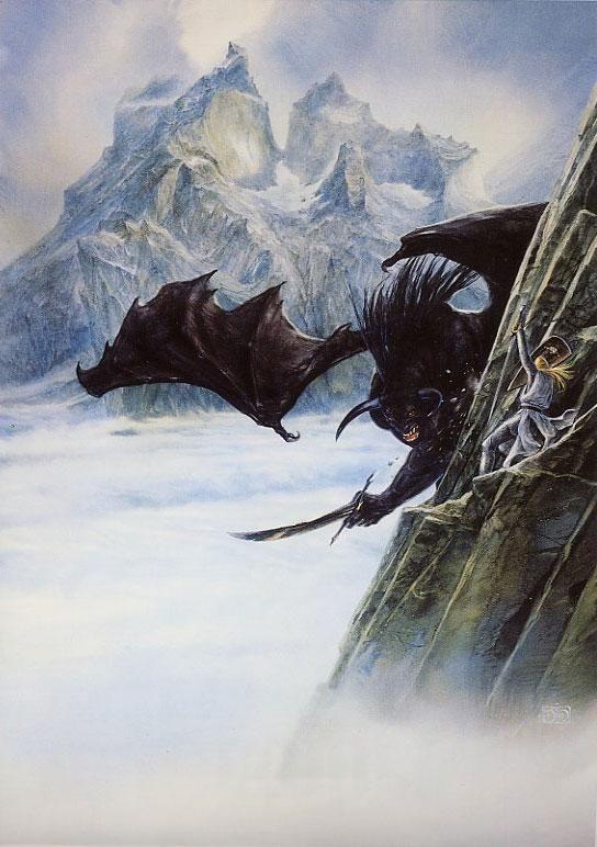 Glorfindel y el Balrog