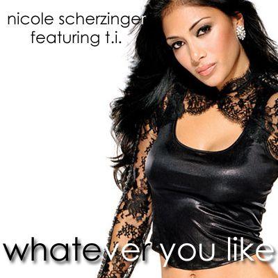 Nicole Scherzinger, T.I. – Whatever U Like (single cover art)