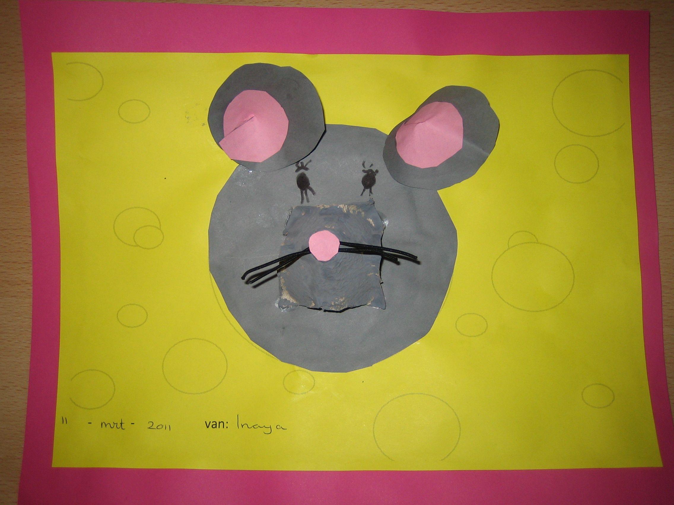 knutselen kleine muis zoekt een huis