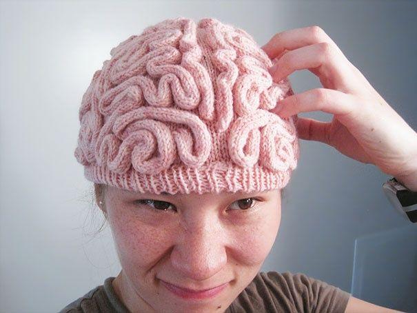 Cap Gehirn | Fiber Arts | Pinterest | Gehirn, Mütze und Häkeln