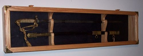 Sword Wall Display Case | deluxe sword case sword display cases ...