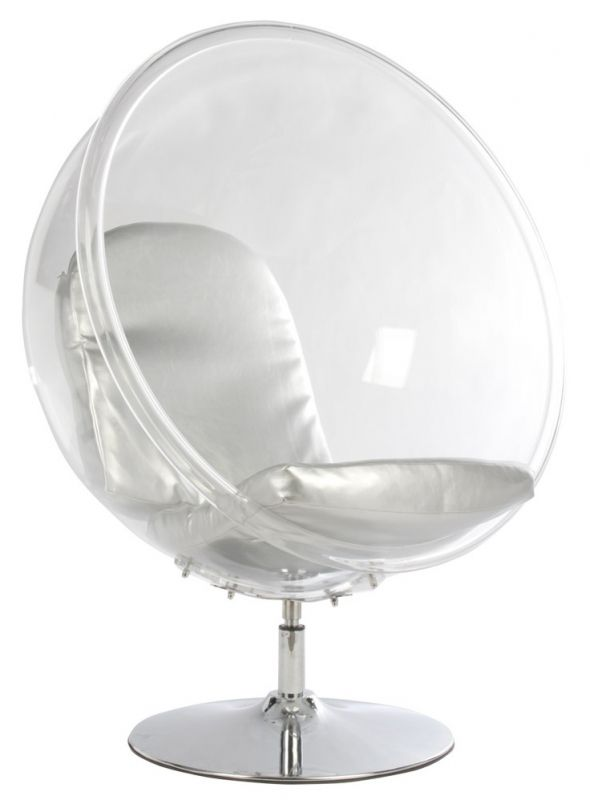 cocoon acryl bubble chair ball chairs egg chairs design meubels retro verlichting