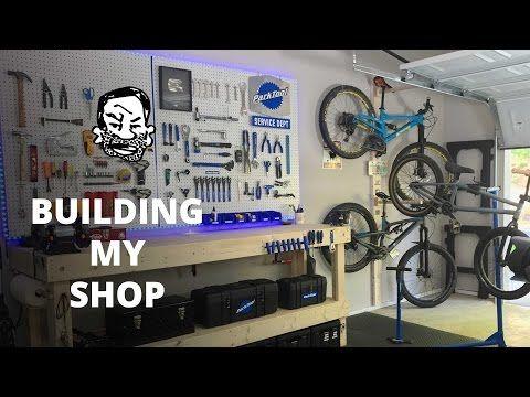 32 Diy Bike Workshop Seth 39 S Bike Shack Youtube Bike