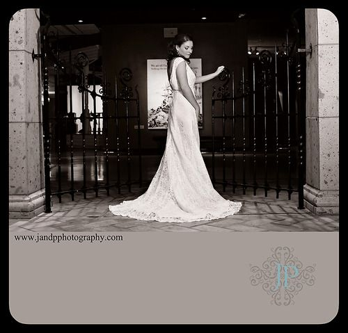 Bridal Session with Mary MaCarty in Corpus Christi, Texas at the Museum of Science & History.