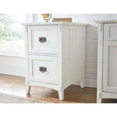 Artisan 2 Drawer File Cabinet In White Filing Cabinet Craftsman Style Furniture Elegant File Cabinet