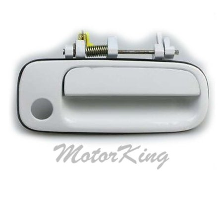 Motorking B377 Front Right Outside Door Handle White Fits For 1992 1996 Toyota Camry Door Handles Toyota Camry Toyota