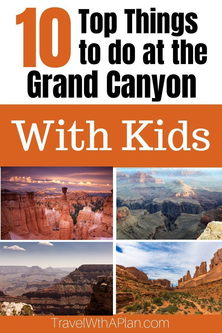 Things to do at the Grand Canyon with Kids