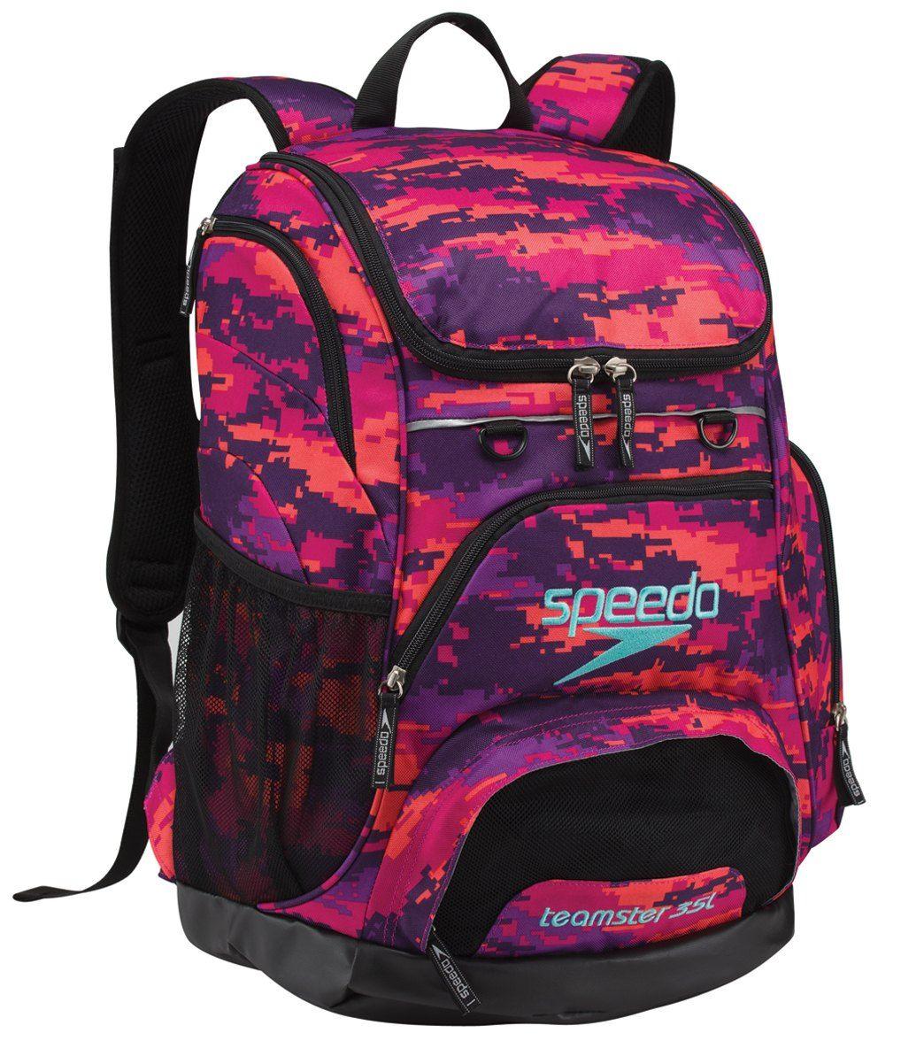 3e00adba43 Speedo Teamster Backpack 25L Team | Swimming❤ | Speedo swimsuits, Swimming  kit, Swimming equipment