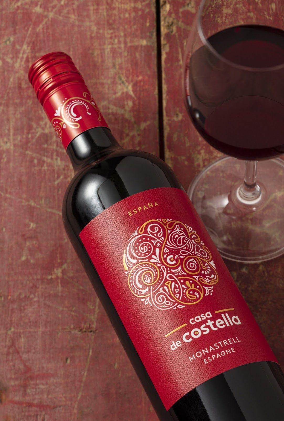 Casa Di Costella In 2020 Creative Packaging Design Wine Design Wine From Spain