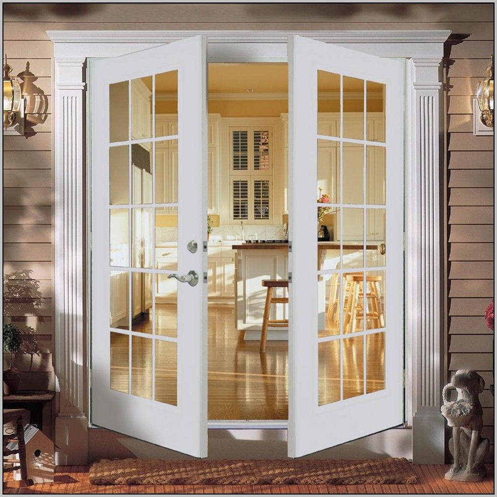 Outswing French Patio Doors With Screens French Doors Exterior