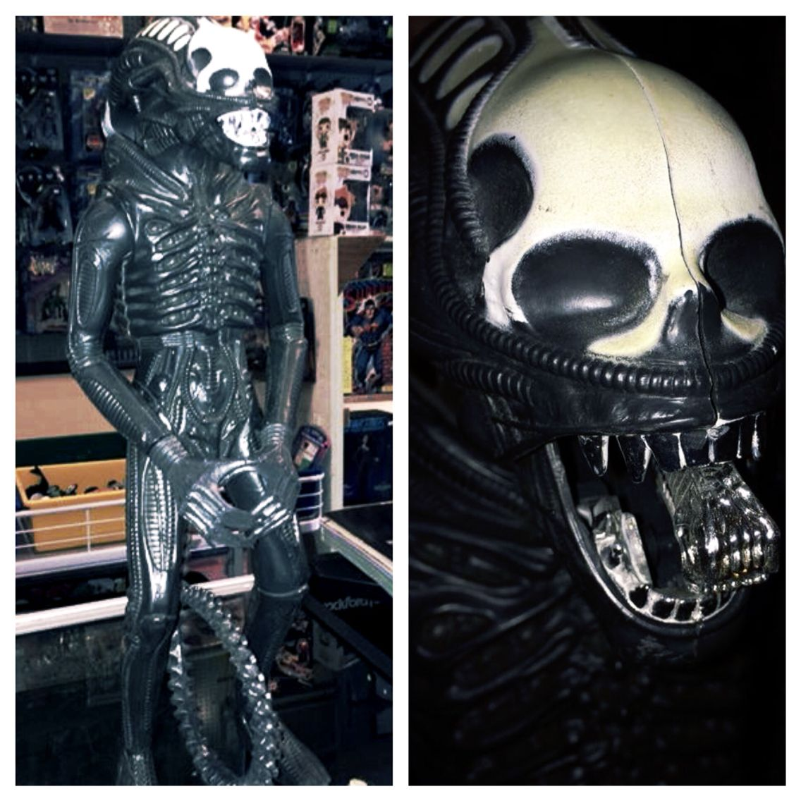 "This just in! #Vintage '79 #Alien 18"" figure! An awesome piece and mouth still works!   http://youtu.be/uKSv85mJEmY"