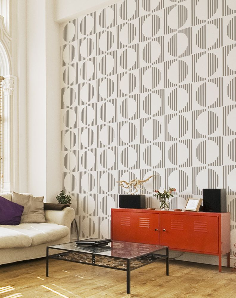 Decorative Scandinavian Wall Stencil Patterns DIY Projects