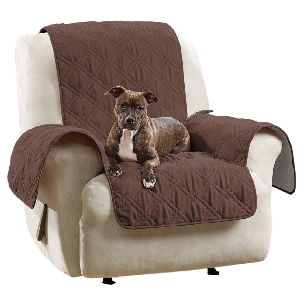 Brown Waterproof Chair Pet Throw Sure Fit Reclining Sofa Recliner Slipcover Cover