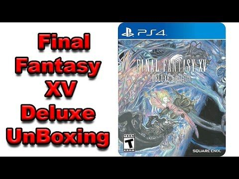 Final Fantasy XV Deluxe Edition Unboxing and Review by ThinkUnBoxing