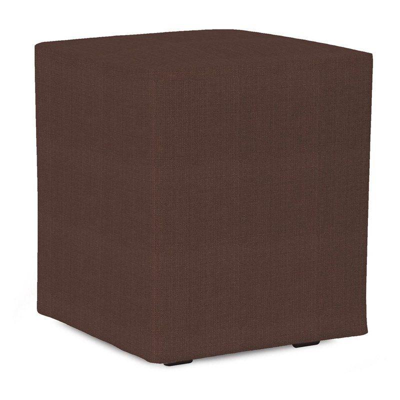 Howard Elliott Universal Cube Sterling Ottoman $200.00