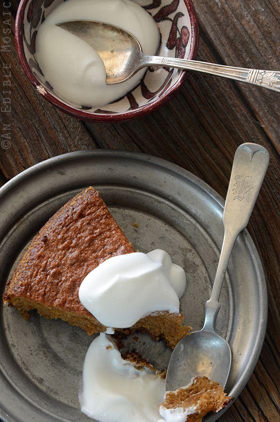 Lemon Vanilla Almond Cake {Paleo}   An Edible Mosiac