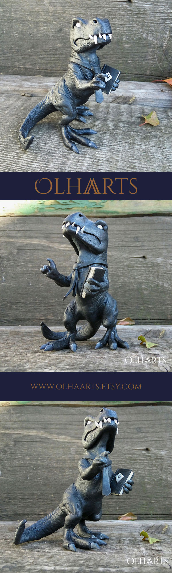 Lizard, gift for a friend Table figurine, made of polymer clay. #OlhaARTS, #polymerclay, #polymer, #handmade, #dinosaur, #lizard, #souvenir, #OOAK #полимернаяглина, #ручнаяработа, #ящер, #динозавр, #сувенир