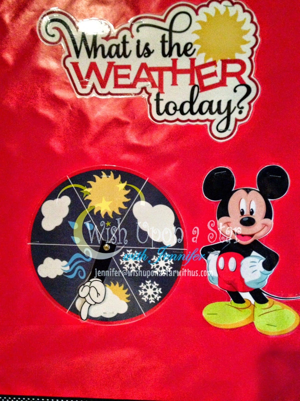 Wish Upon A Star With Jennifer Disney Themed Preschool Kindergarten Calendar Board Includes