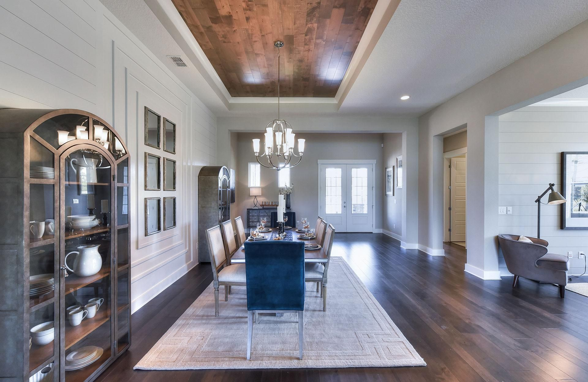 The Westgate F Dining Room Custom homes, New homes