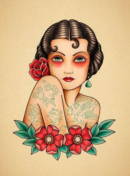 Photo of 34+ idées de tatouage flash vintage traditionnel