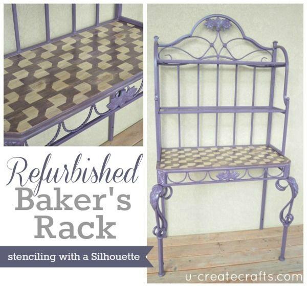 Diy Baker S Rack Makeover Bakers Rack