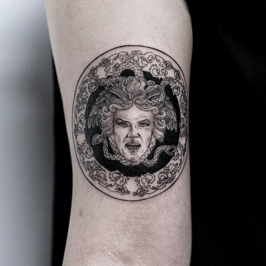 Black Medusa Tattoo: Best Snake Tattoos Designs Ideas // September, 2019