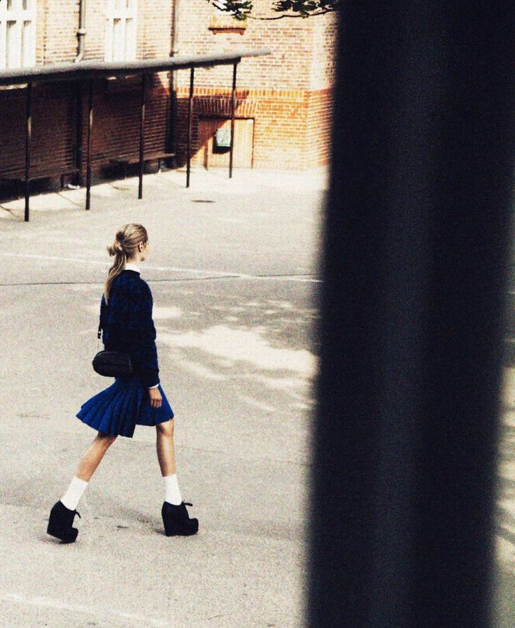 #Preppy #Model #Editorial #Platforms #Skirt #Street #Style #Fashion #BiographyInspiration