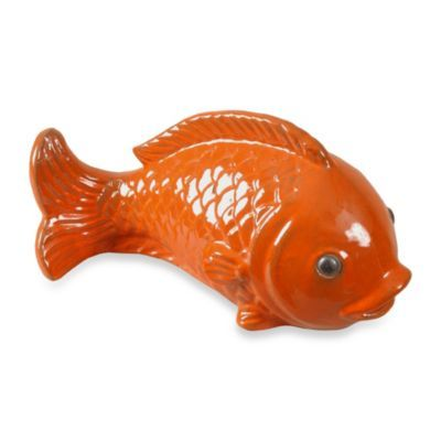 Emissary Swimming Fish Sculpture - BedBathandBeyond.com