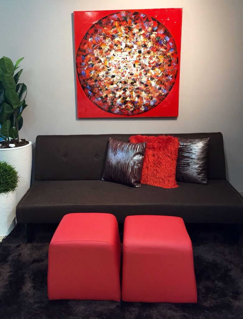 Marr n y rojo decoracion pinterest decora home for Combinacion de colores en decoracion