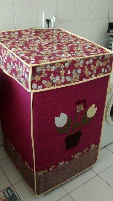 605248ba3 Capa para máquina de lavar roupas!!!