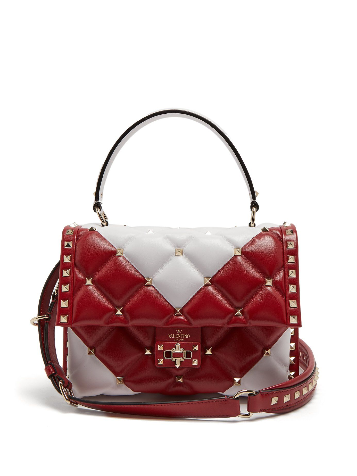 Valentino Candystud Quilted Shoulder Bag I5EDRG
