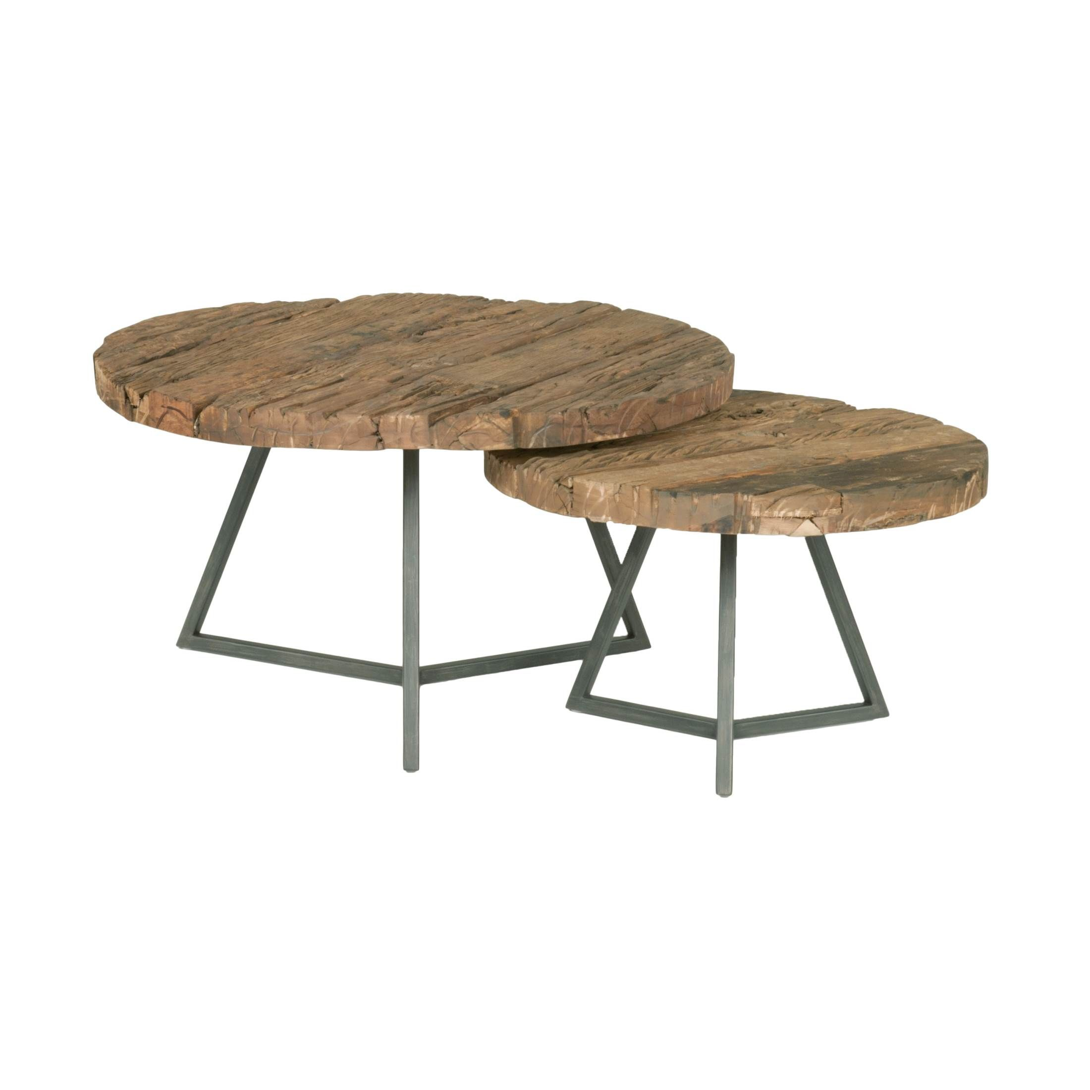 Timber Small Round Coffee Table