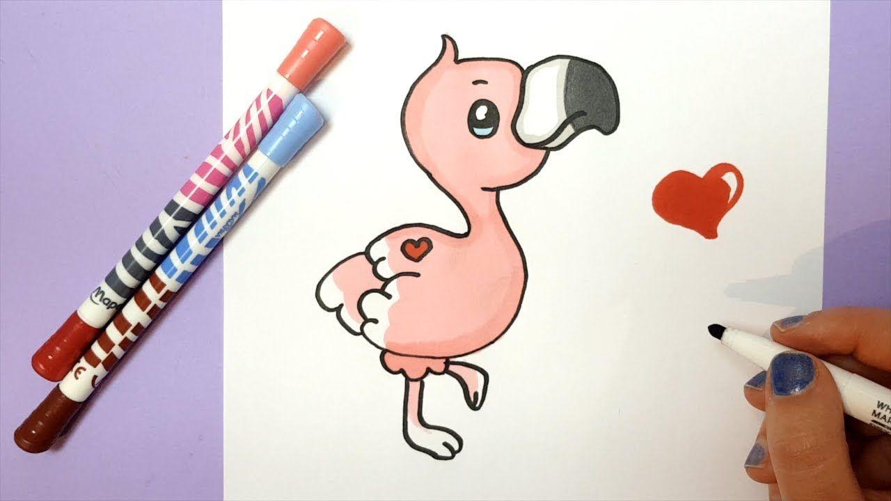 Pin De Arbycat28 Em Drawings Em 2020 Flamingos Desenho