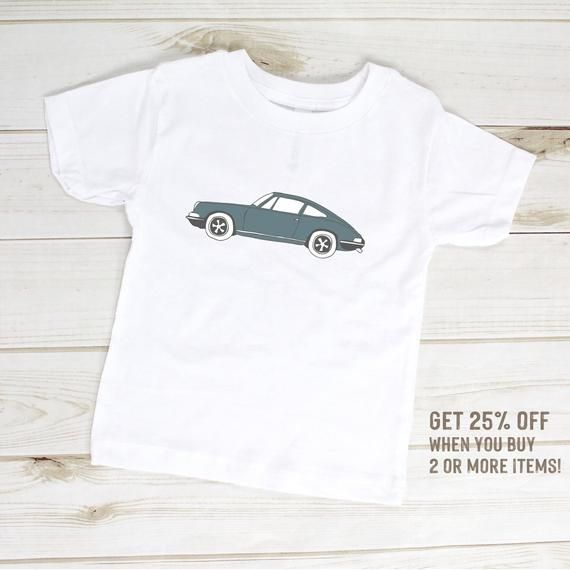 Toddler Shirt – Classic 911, Classic Car Clothes, Vintage Car Toddler T-Shirt, Hipster Kids Clothes, Kids Car Clothes, 911 Race Car Gift