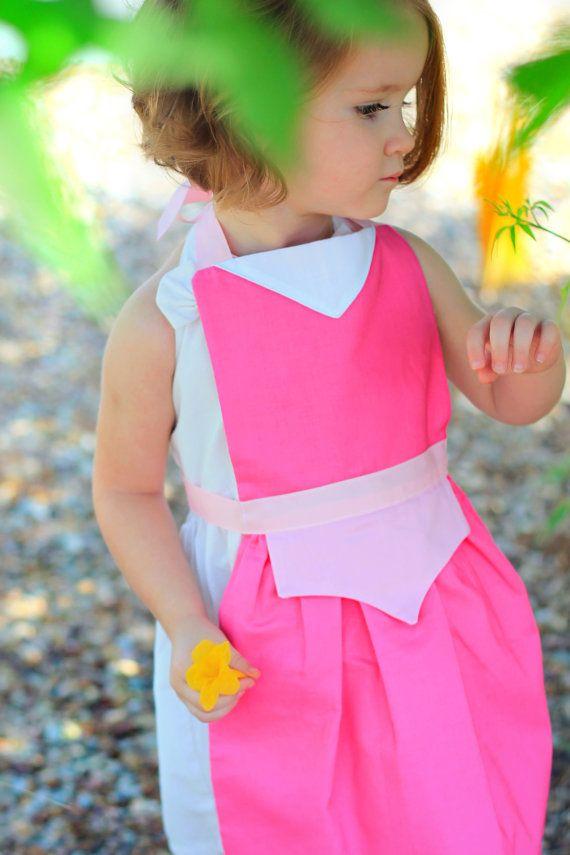 AURORA Sleeping Beauty Disney Princess inspired Costume Apron. Fits ...