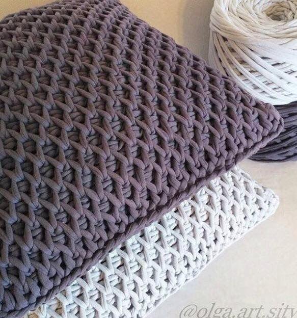 Tunisch Haken Knutsellen Tricot Tricot Et Crochet En Crochet