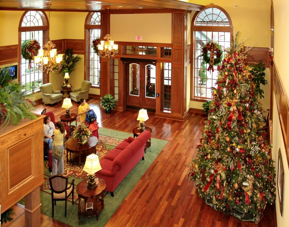 The Inn At Christmas Place.Famous Hotel Christmas Trees Christmas Those People
