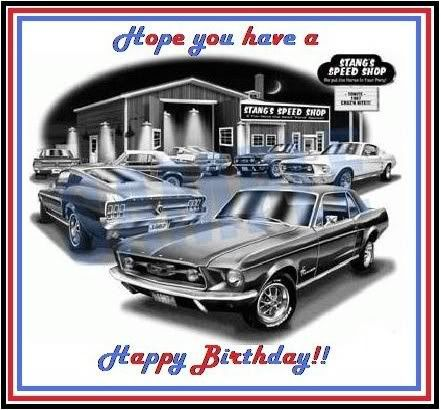 Happy Birthday Mustang Photo This Photo Was Uploaded By