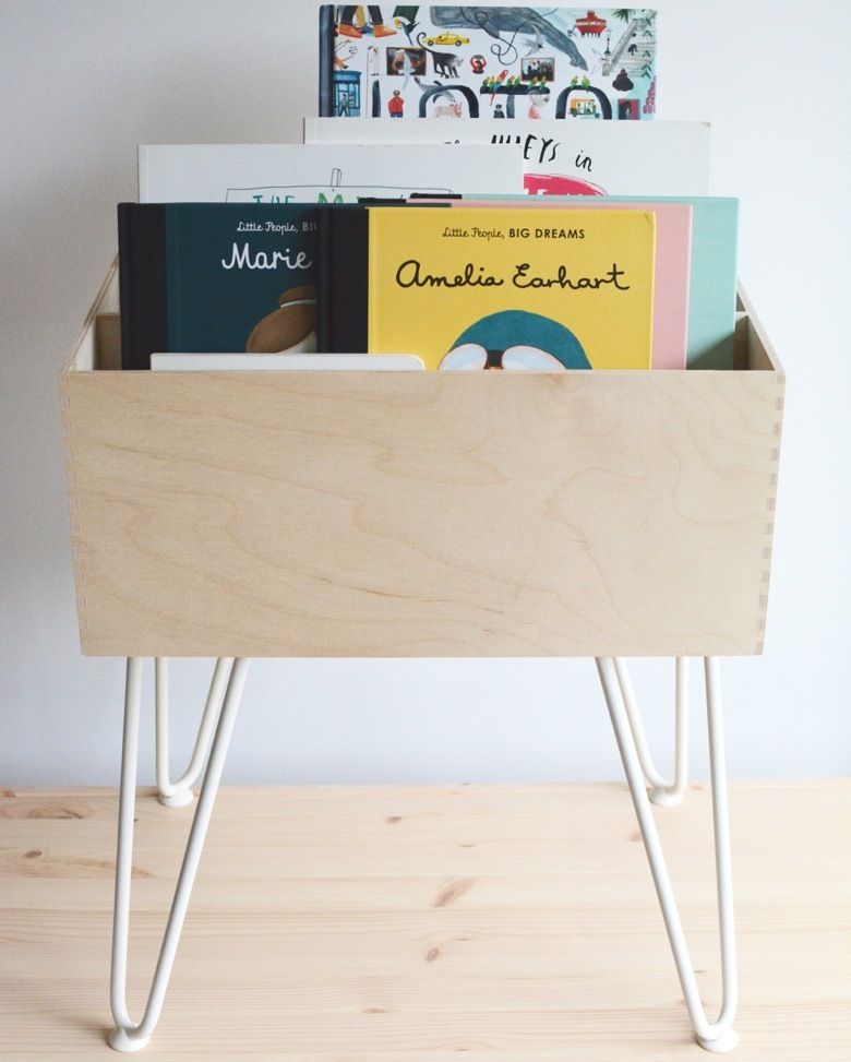 What S The Story A Simple Ikea Hack For Stylish Storage Check Out More Easy Ikea Hacks In Our Latest Blo Kids Book Storage Chests Diy Bookshelves Kids