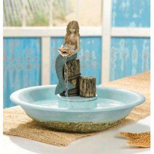 Mermaid Indoor Water Fountain Dream Home Ideas In 2019