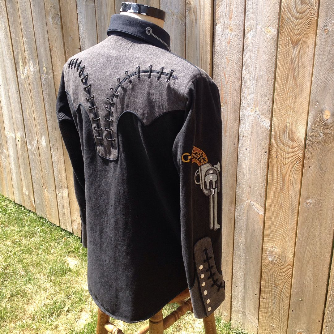 union western clothing on instagram custom pancho and on colter wall id=74627