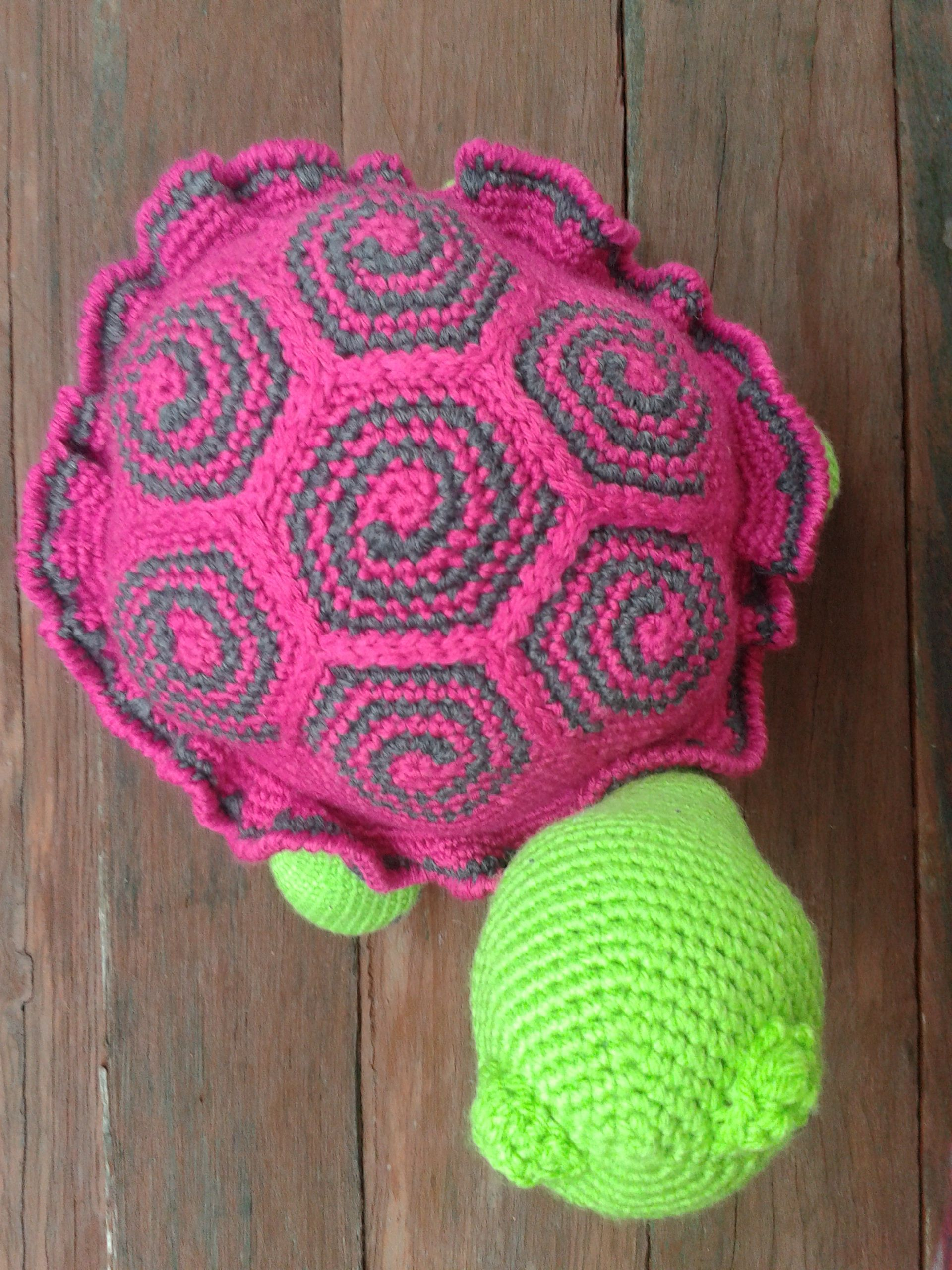 Russian Turtle - top shell. Original Russian Free Pattern; http ...