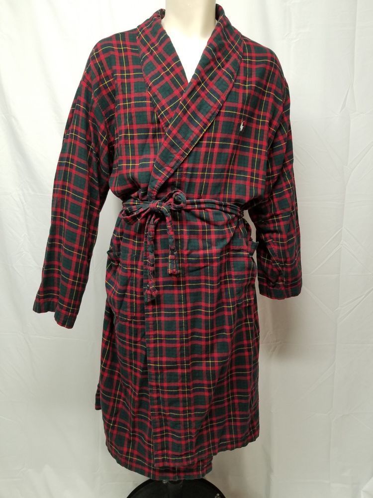 rock-bottom price reputation first incredible prices Details about L.L. BEAN Mens 100% Cotton Flannel Red Tartan ...