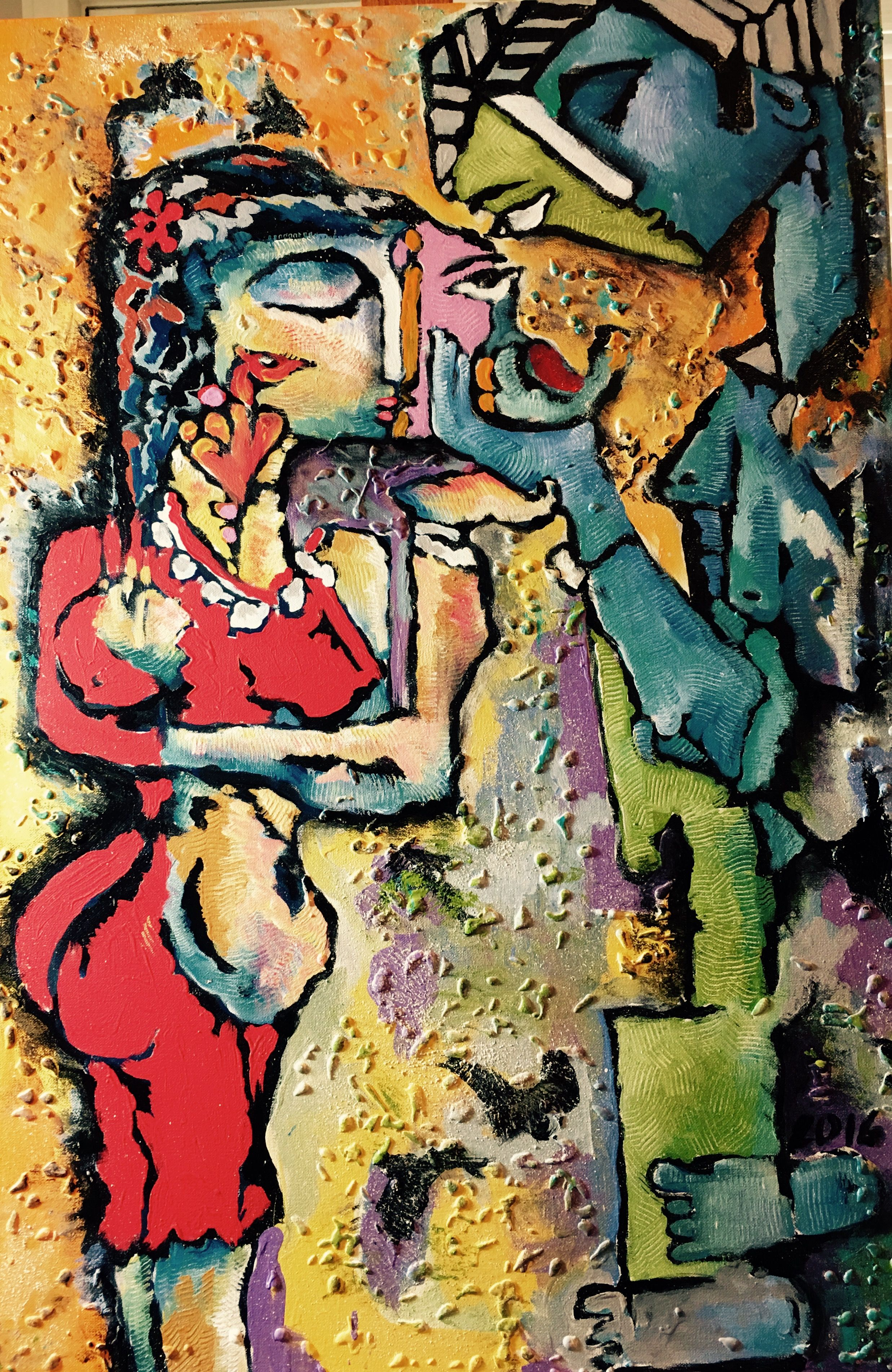 The Meaning Of Life Is To Find Ur Gift The Purpose Of Life Is To Give It Away Gopaal Seyn Www Redbluearts Com Sketch Painting Indian Artist Artist