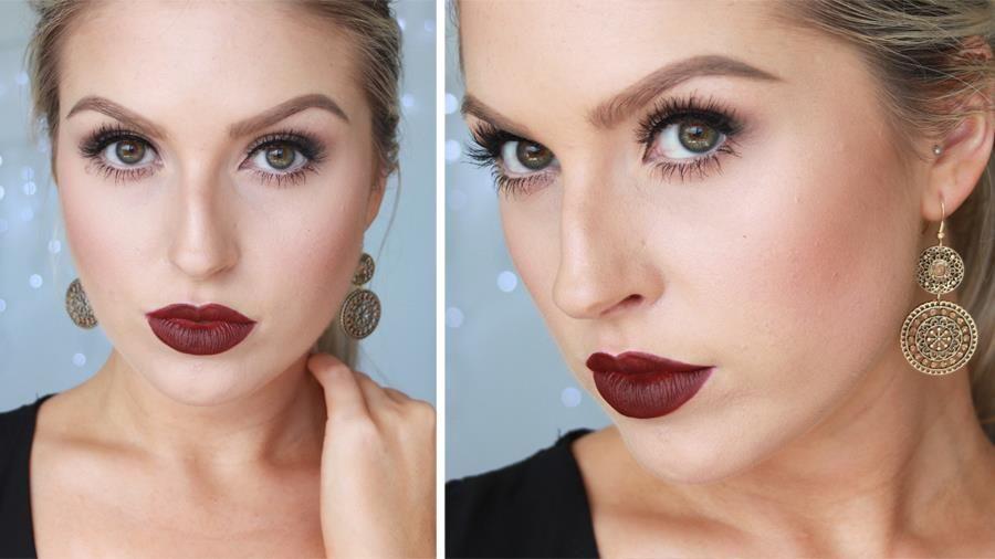 Αποτέλεσμα εικόνας για shaaanxo christmas makeup