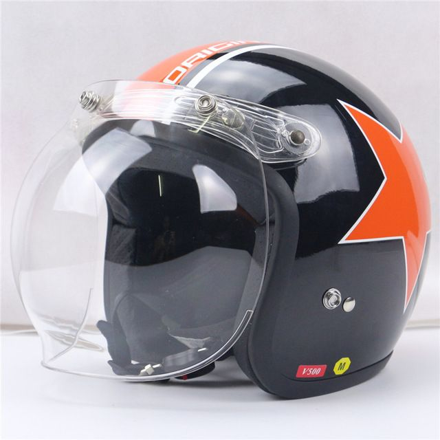 a2bdc3da 【 $7.82 & Free Shipping 】motorcycle windshield for vintage helmet harley  style jet bubble visor UV 400 Protection | worth buying on AliExpress