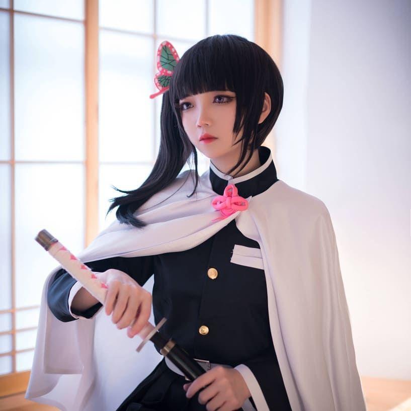 Character tsuyuri kanao anime demon slayer kimetsu no