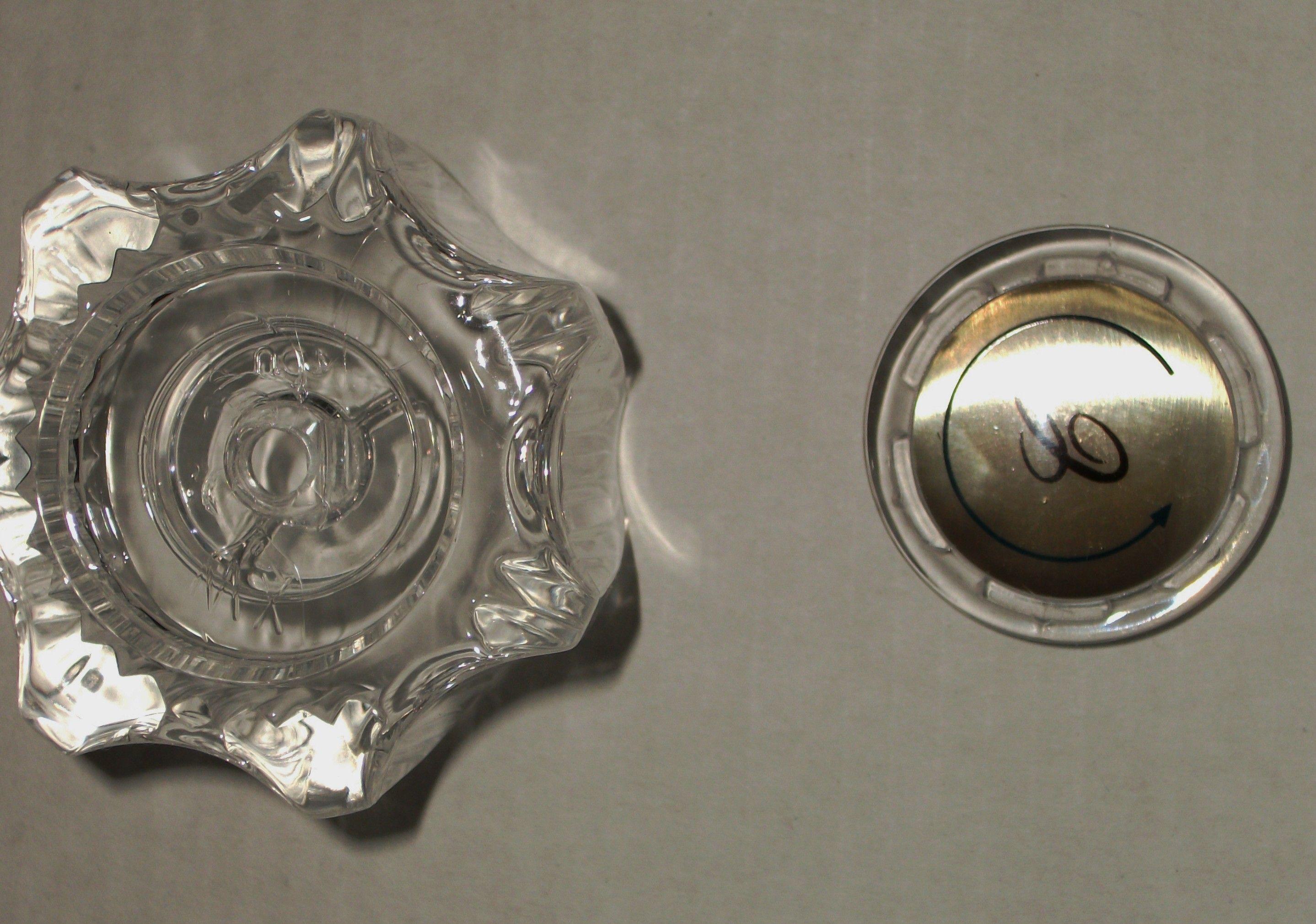 Faucet Instructions Glacier Bay Index Button Screw Cap With