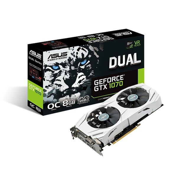 Asus Dual Series Geforce Gtx 1070 Graphics Card In 2019 Video