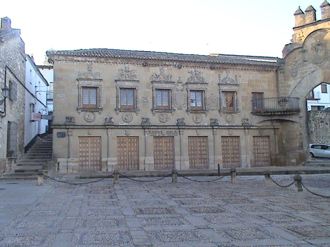 Baeza la antiguas escriban as hoy oficina de turismo for Oficina turismo andalucia